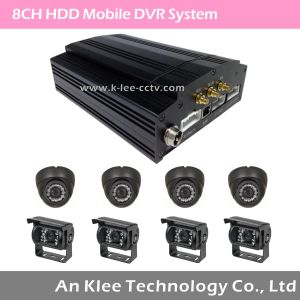 8 Channel HDD Mobile DVR with 3G GPS WiFi