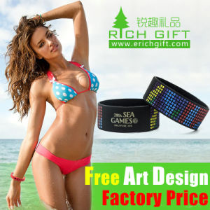 Factory Custom Sets Silicone USB Flash Drive Wristband Sport pictures & photos