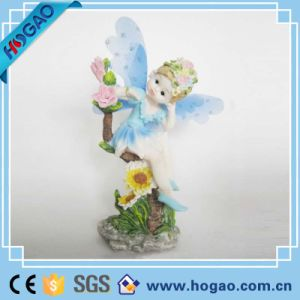 Resin Figurine Pretty Child Fairy Home Decoration pictures & photos