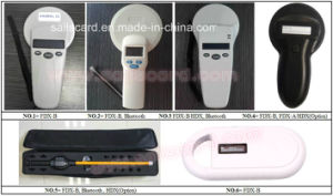 High Quality 134.2kHz RFID Handheld Reader for Animal Ear Tag pictures & photos