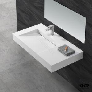 Kkr Acrylic Stone Bathroom Modern Design Sink (B1708097) pictures & photos