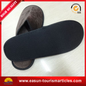 Personalized Open-Toe One Use Hotel Slippers for Airline pictures & photos