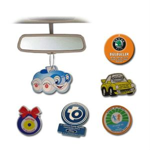Customized Shape Promotional Logo Printed Hanging Paper Car Air Freshener (YB-f-003) pictures & photos