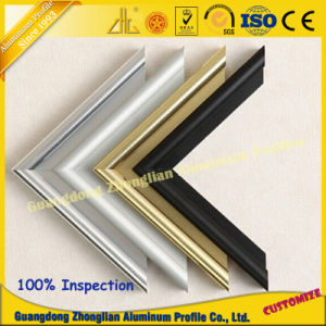 Kitchen Cabinet Handle Aluminum Profile for Color Glass pictures & photos