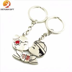 Wholesale Heart Metal Keychain for Lover Made in China pictures & photos