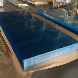 Aluminum Sheet A1200 H12 with Plastic Film Coated pictures & photos