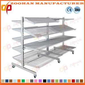 Manufactured Customized Punched Steel Supermarket Wall Shelves (Zhs562) pictures & photos