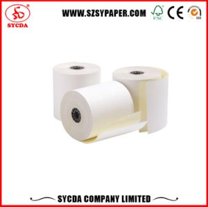 NCR Paper Rolls 2 Ply Carbonless Paper pictures & photos