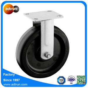 "Heavy Duty 8"" Rubber Caster Wheels for Industrial Trolley pictures & photos"