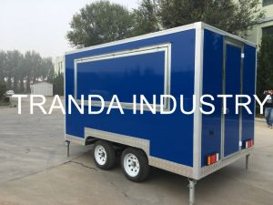 Fooding Vending Street Food Cart Coffee Shop Mobile Food Truck with Ce pictures & photos
