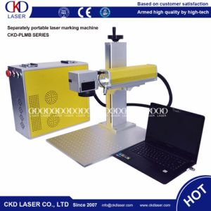 Portable Mini Fiber Laser Engraving Machine for Cup pictures & photos