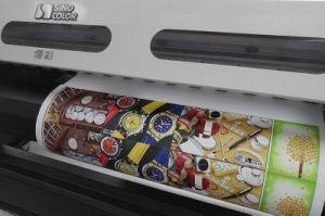 1.8m Sinocolor Sj-740 Eco Solvent Vinyl Sticker Printer with Dx7 Head pictures & photos