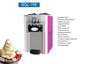 Table Counter Top Frozen Yogurt Soft Ice Cream Machine Ice Maker pictures & photos