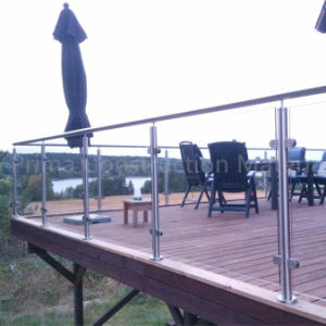 Modern Design Stainless Steel Glass Railing Model Interior Stair Tempered Glass Balustrade pictures & photos