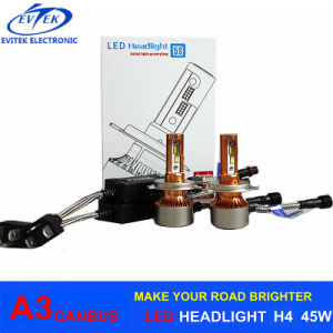 90W 12000lm A3 Car Light H4/9003 H1 H3 H7 H11 9005 9006 H13 LED Headlight Auto Headlight Kits pictures & photos