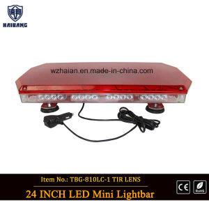Red Dome Red LEDs Mini Lightbar for Police Cars (TBG-810L-1C4) pictures & photos