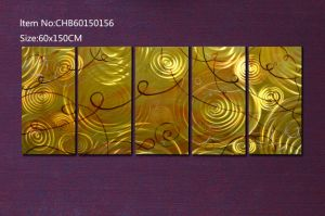 Gold Color Wall Arts for Metal Polished pictures & photos