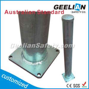 Powder Coating Traffic Permanent Street Furniture Bollard, Parking Barrier for Car Parking System pictures & photos