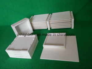 High Purity Heat Resistant 99.5% Alumina Boat Boat Sagger pictures & photos
