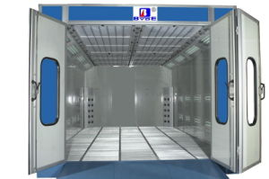 Water Based Paint Spray Booth with Air Nozzle pictures & photos