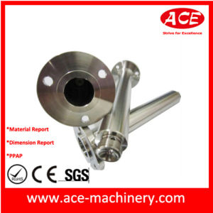 Aluminum Die Casting Foot with Orb Finish pictures & photos