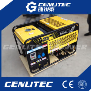 10kVA Water Cooled 2 Cylinder Portable Changchai Diesel Generator pictures & photos