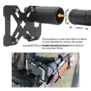 Hunting Rifle Scope Mounting Adapter Smart Shoot Scope Mount Adapter-Record The Hunt Via Cell Phone pictures & photos