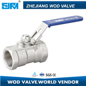 1 Piece 1000wog Ball Valve pictures & photos