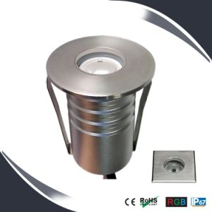 1W/3W IP67 LED Floor Light Stainless Housing, Underground Lighting, Deck Light pictures & photos