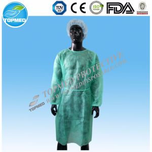 Medical Nonwoven SMS/PP Surgical Gown, Hospital Surgeon Clothing pictures & photos