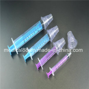 Medical Oral Syringe with Bottle Adapter for Beby with Ce ISO 13485 pictures & photos