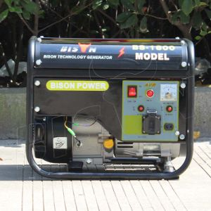 Bison (China) BS1800n 1kw High Quality Portable Gasoline Generator Set pictures & photos