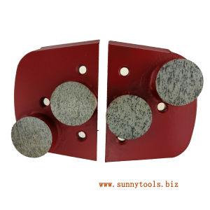 Metal Bond Concrete Floor Diamond Grinding Polishing Pad for Lavina Grinder pictures & photos
