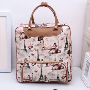 Korean Cute Cartoon Travel Bag, Women′s Hand Luggage Bag, Large Capacity Waterproof Travel Bag, Student Short Distance Travel Bag pictures & photos