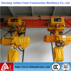 3 Ton Motor Lifting Hgs-B Electric Hoist with Brake System pictures & photos