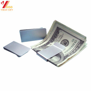 Custom Logo Stainless Steel Money Clip, Carbon Money Clip pictures & photos