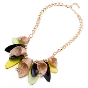 Handmade Custom Bohemian Style Flower Pendant Necklace Fashion Jewelry pictures & photos