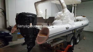 Liya Hot Sale 6.6m Inflatable Boat Fiberglass Sport Rib Boat pictures & photos