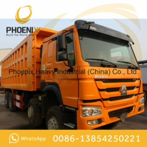 Low Price Used HOWO Dump Truck 12 Tyres 371HP 40tons Excellent Condition Use for Africa pictures & photos
