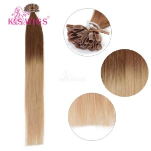 U-Tip Keratin Hair Remy Human Hair Extension pictures & photos