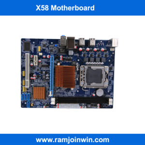Best Selling LGA1366 Socket DDR3 China Motherboard X58 for Server pictures & photos