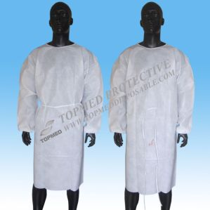 Disposable Exam Gowns, Hospital Isolation Gown pictures & photos
