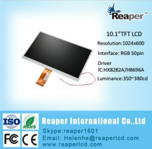 RGB 50pin 10.1 Inch 1024X600 TFT LCD Display for Home Appliance pictures & photos