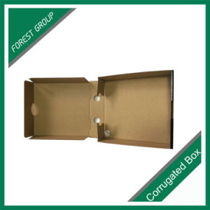 Litho Printing Corrugated Pizza Food Paper Box pictures & photos