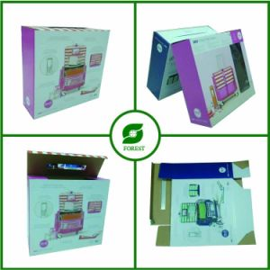 Printed Corrugated Cardboard Suitcase Packaging Box pictures & photos