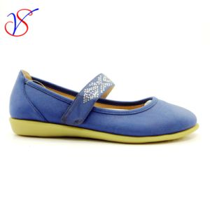Three Color Soft Comfortable Flax Lady Women Shoes Sv-FT 002