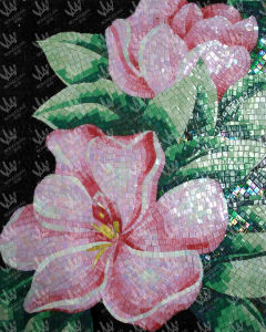 Glass Tile Art Mozaiki Picture/ Glass Mosaic Tile (J20) pictures & photos