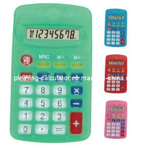 8 Digits Promotional Calculator, Handheld Calculator, Office Appliance (KT-402T)