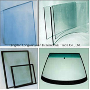 Low-E Frosted Tempered Safety Glass for Multi-Purpose (LWY-TG35)