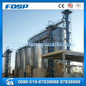 Convenient Operation 10000 Ton Grain Silo Rice Husk Storage Silo pictures & photos
